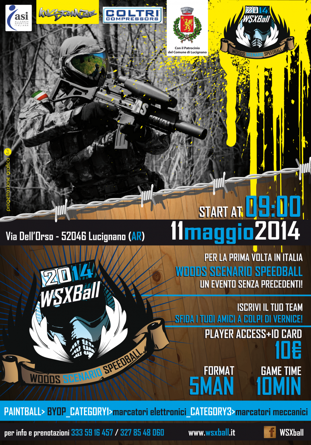 Wsxball - A.S.D. Paintballs Arezzo