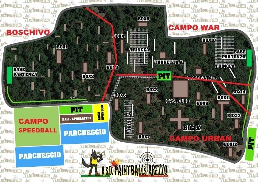 Paintball in Italia - A.S.D. Paintballs Arezzo